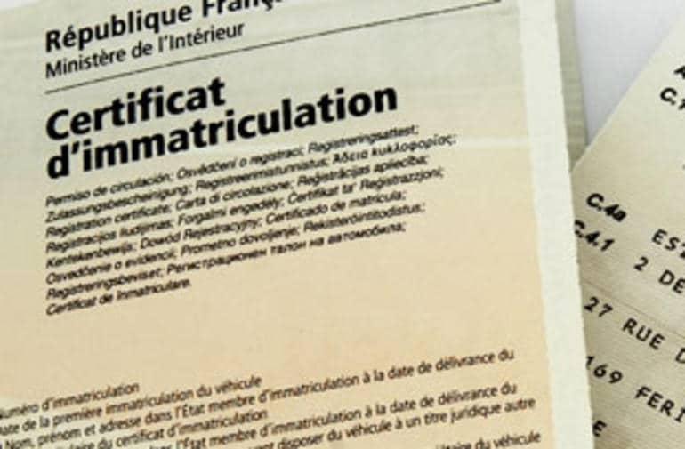 immatricultaion