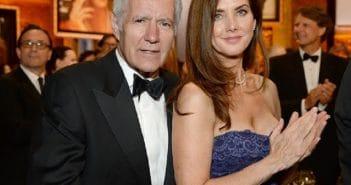 Zoom sur le grand écart d'âge Alex Trebek et sa femme Jean Currivan