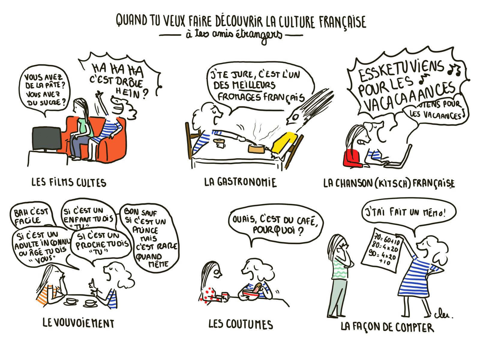 Comment découvrir la culture Française ?