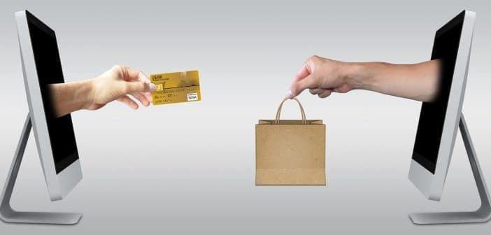 le commerce électronique en image