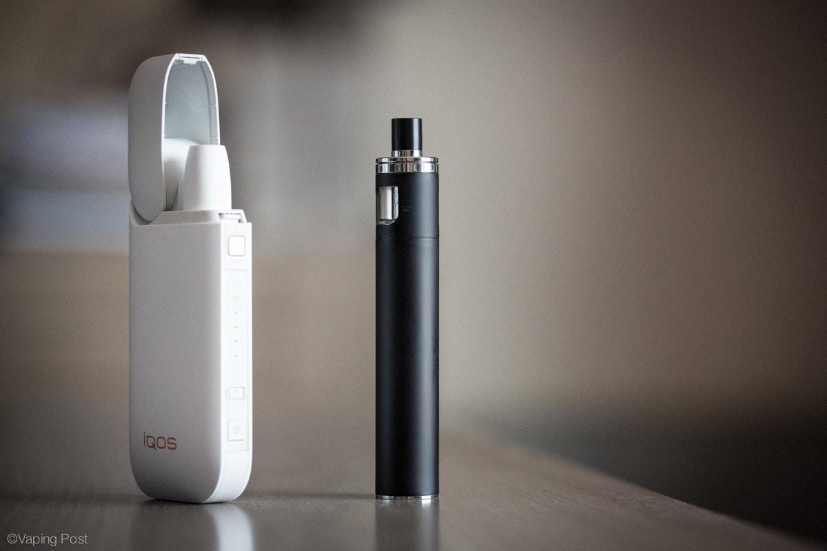 Une E-cigarette qui chauffe?