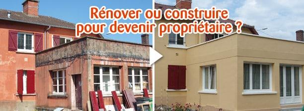 Faut-il rénover ou acheter un bien immobilier neuf ?
